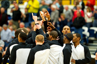 Central Washington University Wildcats basketball team in Billings Montana 2012
